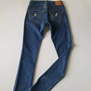 Authentic True Religion Billy Straight Leg Jeans